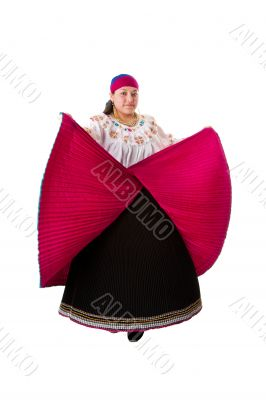 Folklore Hispanic Latina woman
