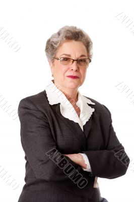 Experienced female lawyer