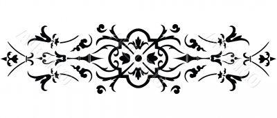 damask ornate