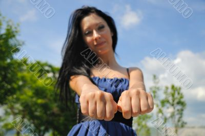 Choose a fist