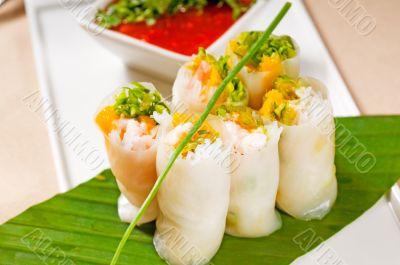 vietnamese style summer rolls