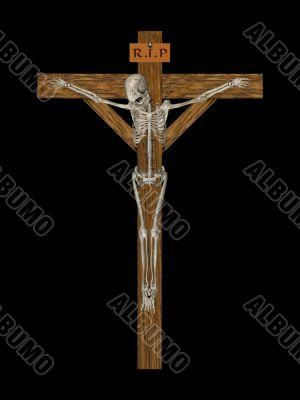 Crucify Skeleton