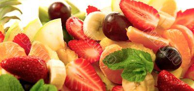 Fruit assortment cranberry