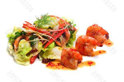 Tasty salad or apetizer