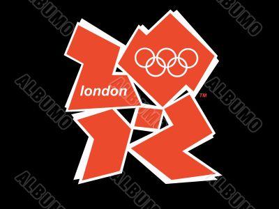 Logo of the 2012 Olympics. London.
