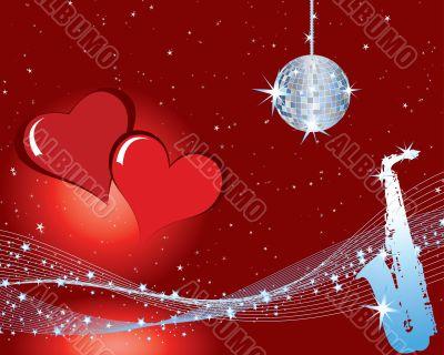 valentines music background