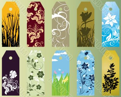 set of bookmarks