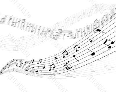 musical stuff background