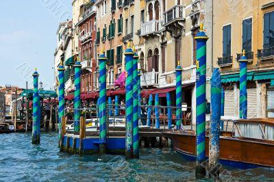 Mooring for gondolas