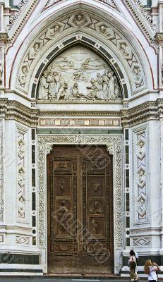 Gate of Santa Croce church