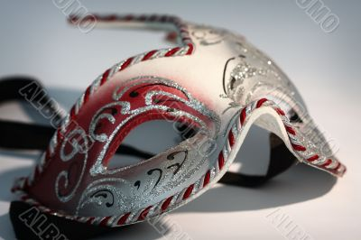 Carnival mask close up