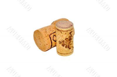 Corks from wine bottles