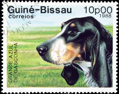 Grande Azul dog stamp.