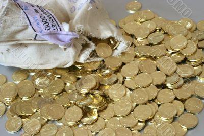 russian metallic coins
