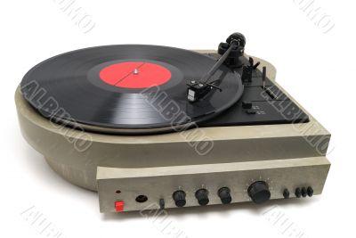Player of vinyl disks