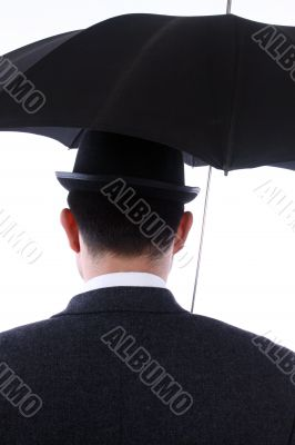 bowler  and  umbrella