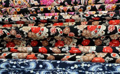 Variety Of Oriental Fabrics