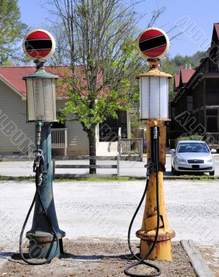 Gasoline Pumps from Generations Past