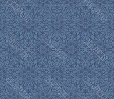 seamless pattern 009c-3blue