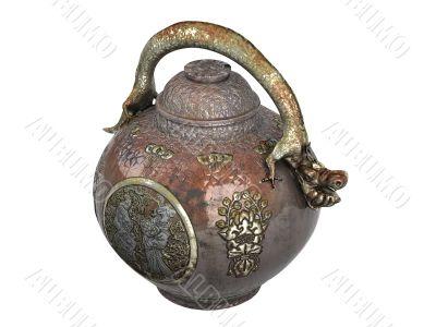 Asian jug