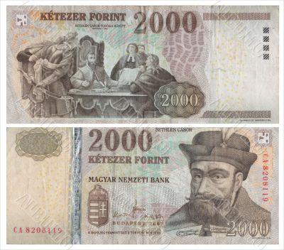 2000 Hungarian forints