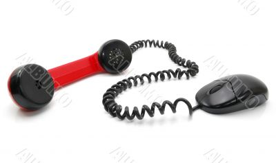 Computer Mouse and handset