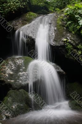 Magical flowing water