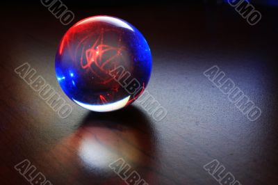 The ball of success and happiness