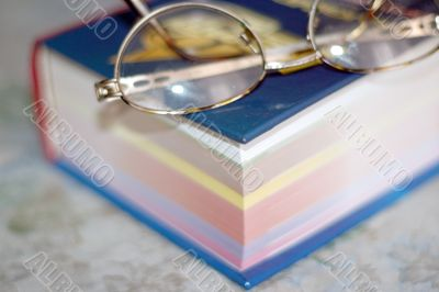 spectacles and sheets book