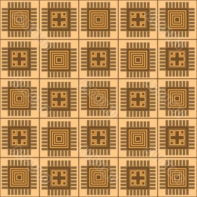 pattern with rectangle shapes