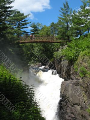 Falls in Quebec