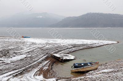 Alexander Stamboliiski Lake in the Winter