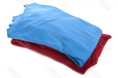 Colored jumper closeup