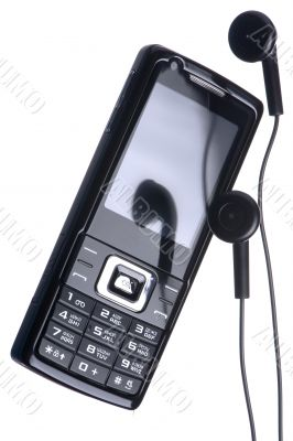 mobile phone with head set