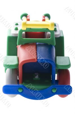 Toy Fire engine macro