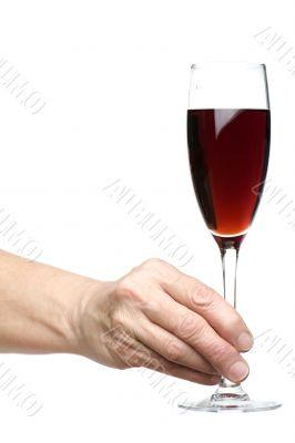 wine on hand