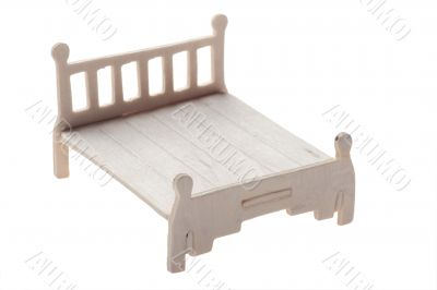 Wood bed toy