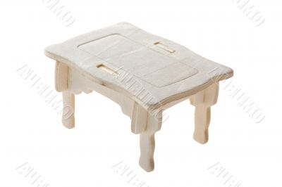 wood toy big table