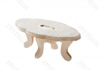 wood toy table