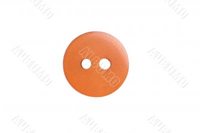 Yellow sewing button