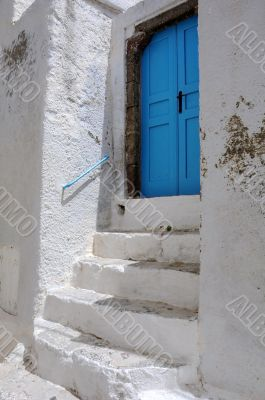 Entrance to Traditional Cave House