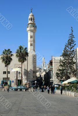 Mosque of Omar in Bethlehem