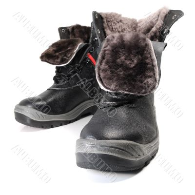 Winter work footwear