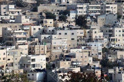 Arab Silwan Village in Jerusalem