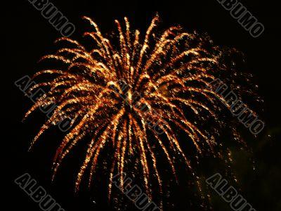 burning palm explosion festival flash