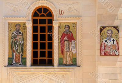 Mosaic Icons of Greek Orthodox Church