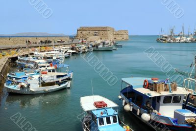 Venetian Fortezza and Old Port in Heraklion