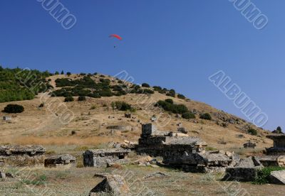 Paragliding Over The Ruins