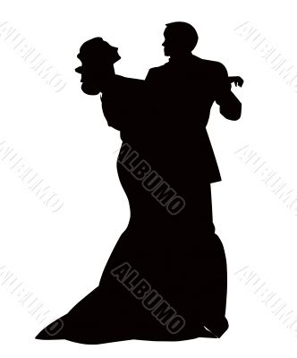 The Pair in dance.