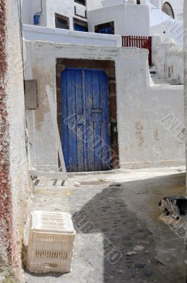 In the Town of Pyrgos